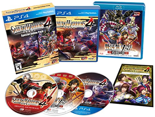 SAMURAI WARRIORS 4: Special Anime Pack - PlayStation 4