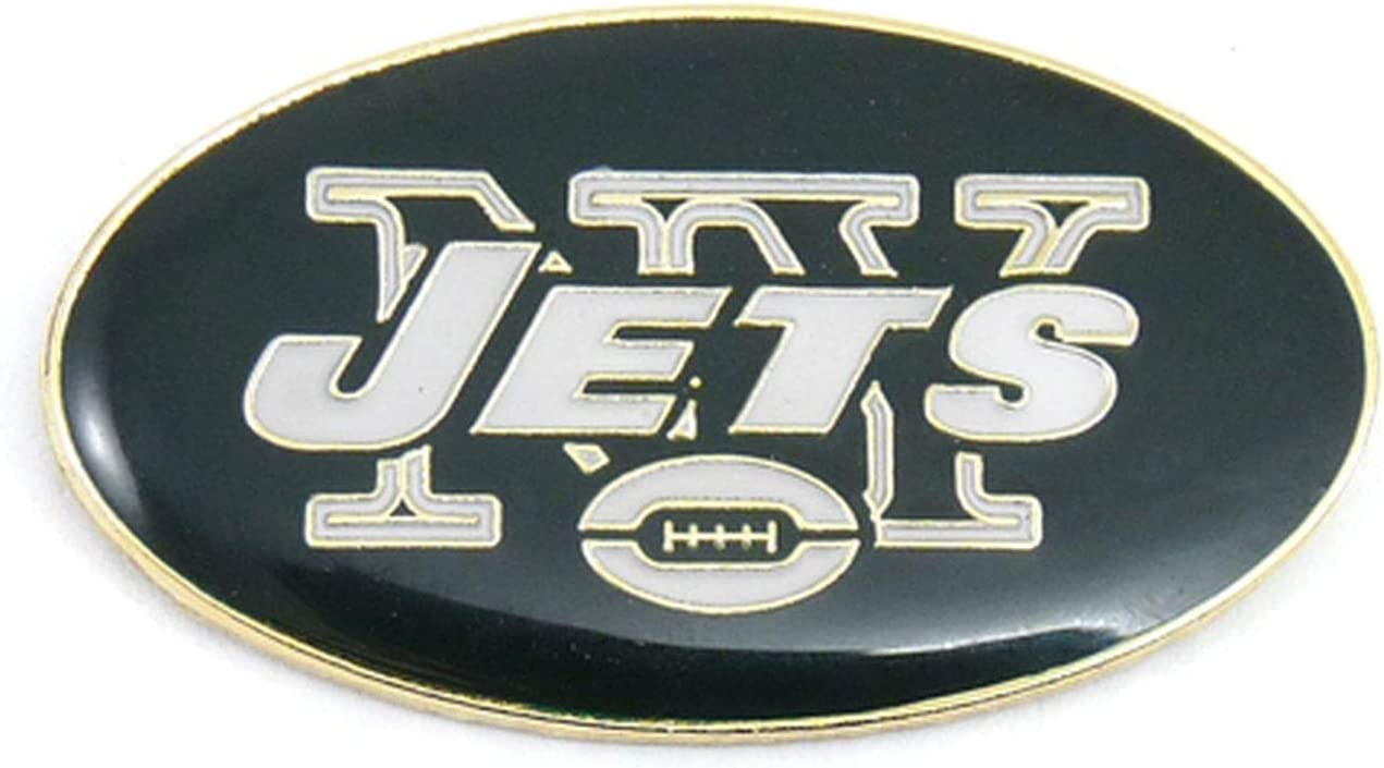 NFL New Today's only York latest Jets Team Pin Logo