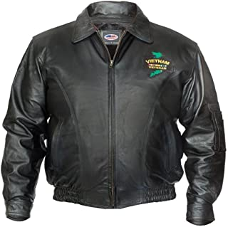 Official Products 4U Vietnam Veteran Leather Jacket
