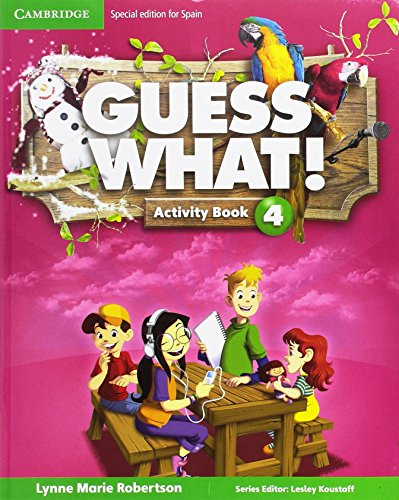 Guess What Special Edition for Spain Level 4 Activity Book with Guess What You Can Do at Home & Online Interactive Activities  - Pack de 3 libros - 9788490361078
