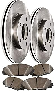 Front Premium Quiet technology Brake Rotors and severe Duty Metallic Pads MAXE4062M | Fits: Q7 Cayenne Touareg