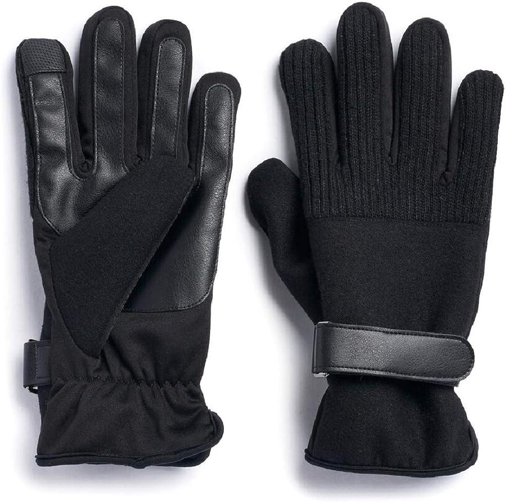 Men's Apt. 9 Touchscreen Gloves Wool-Blend cheap sold out