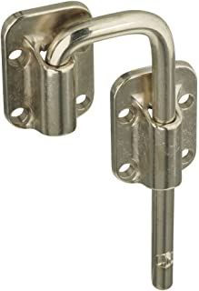 National Hardware N238-972 V800 Sliding Door Latch in Nickel