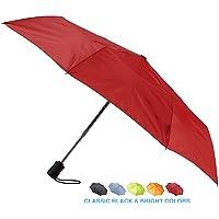 Lewis N. Clark Windproof & Water Repellent Travel Umbrella