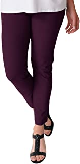 Eileen Fisher 'Raisinette Washable Stretch Crepe Slim Ankle Pant Size XL MSRP $168