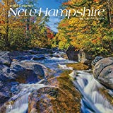 New Hampshire Wild & Scenic 2022 12 x 12 Inch Monthly Square Wall Calendar, USA United States of America Northeast State Nature
