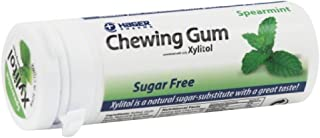 Hager Pharma Xylitol Chewing Gum - Spearmint - 30 Ct - Case Of 6