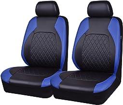 WOLTU 7232-5 Set Coprisedili Auto 5 Posti per Pkw Van Seat Cover Protezioni Universali per Macchina Tessuto Poliestere Nero//Blu