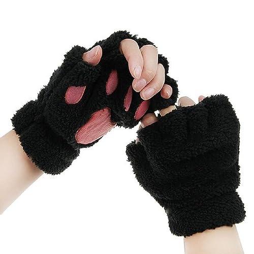 Anime Love Live Cotton Gloves Knitting Wrist Mitten Fingerless Cosplay Gifts