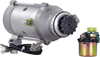NEW STARTER MOTOR FITS WITH SOLENOID 1976-79 HONDA GOLDWING GL1000 31200-371-005