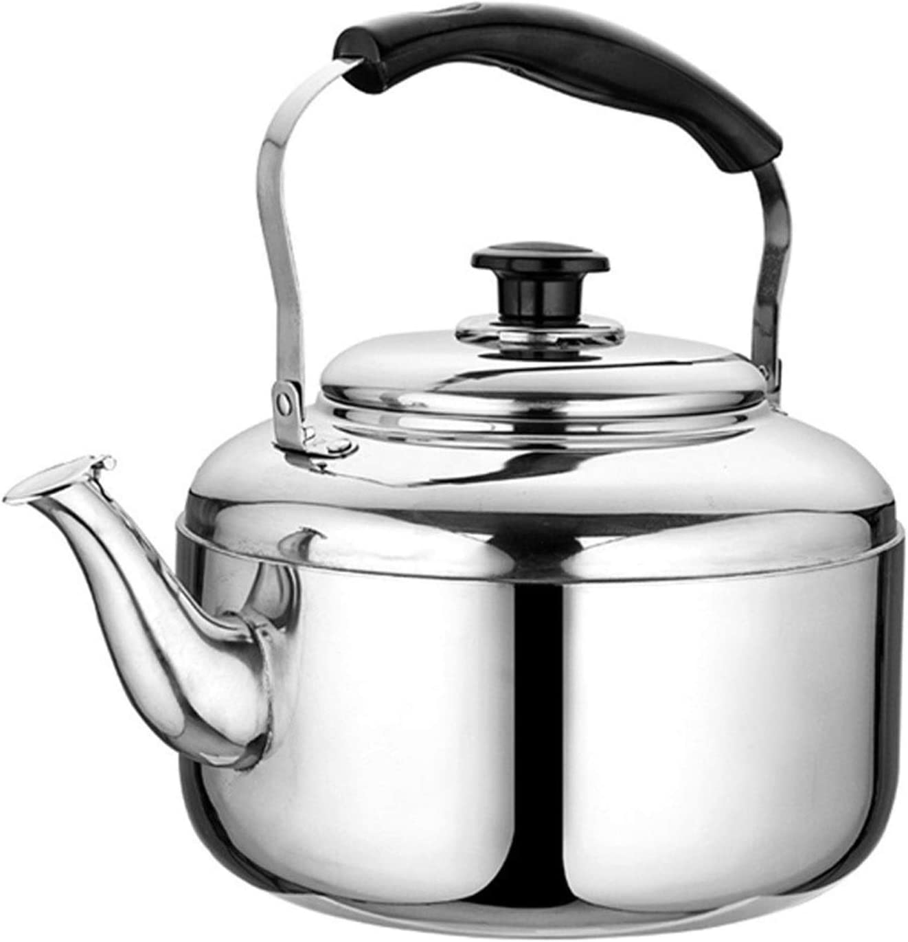 Stainless depot Special price steel tea kettle for Ergonomic top Handle Large- stove