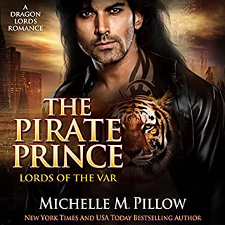 The Pirate Prince audiobook cover art