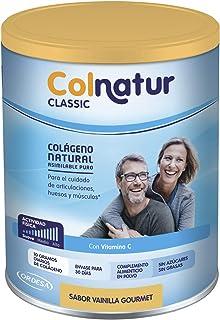Colnatur Classic – Colágeno Natural para Músculos y Articulaciones. Sabor Vainilla. 306 gr