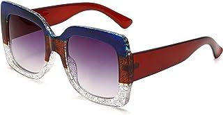 Oversized Sunglasses For Women Luxury Fashion Stylish Square Vintage Oversized Sunglasses Unique...