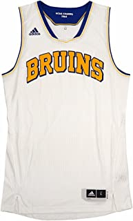 adidas UCLA Bruins NCAA White Authentic On-Court Pro Cut Classics Home Jersey for Men
