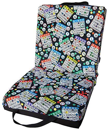 ABS Novelties Bingo Pattern Double Cushion … (Black)