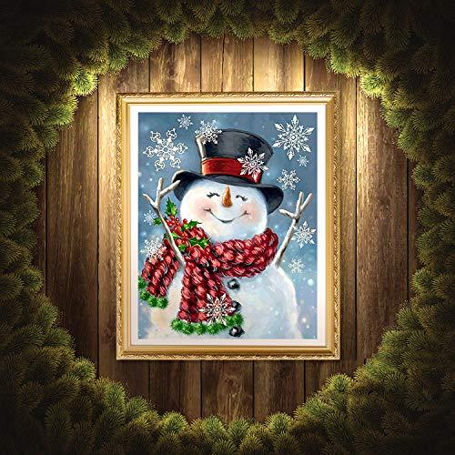UPINS 5D DIY Christmas Full Drill Rhinestone Diamond Painting Kits for Home D/écor