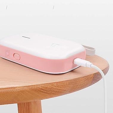1 Pc Label Printer Mini Wireless Bluetooth Portable Thermal Printers USB Rechargeable Zero Ink Printing