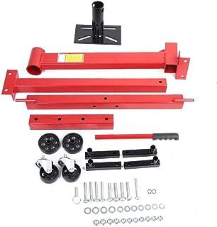 EBTOOLS Motorstandaard, motorstandaard, motorstandaard, standaard, aluminiumlegering, met 4 wielen, tot 450 kg