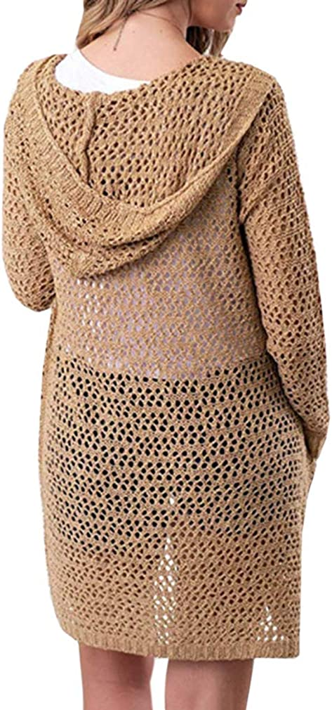 excellence Takra Gold Women Sueter De Mujer Out Hooded Ranking TOP12 Long Hollow Cardigan