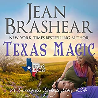 Texas Magic: A Sweetgrass Springs Story audiobook cover art