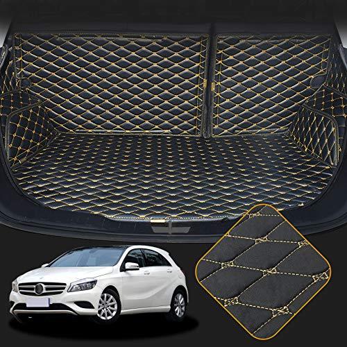 OREALTECH Kofferraummatte Auto für Mercedes-Benz Klasse A W176 W177 2013-2018 Allwetter XPE Leder Kofferraumwanne 3D All-Inclusive-Stil Schmutzfangmatte