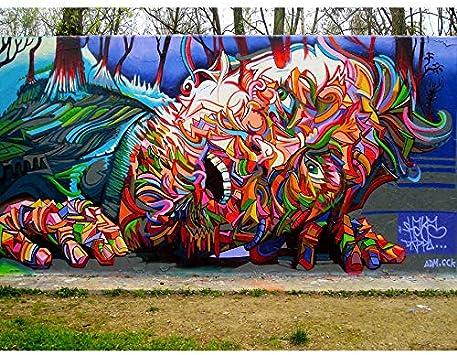 Art print Grafitti