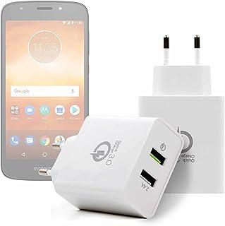 Caricabatteria auto per Motorola Moto X, X Play G6 Play