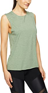 Lorna Jane Women's Activate Active Tank, Light Khaki Marl