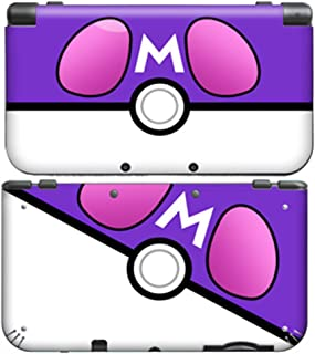 POKEBALL MASTER BALL for New Nintendo 3DS XL Skin Vinyl Decal Stickers