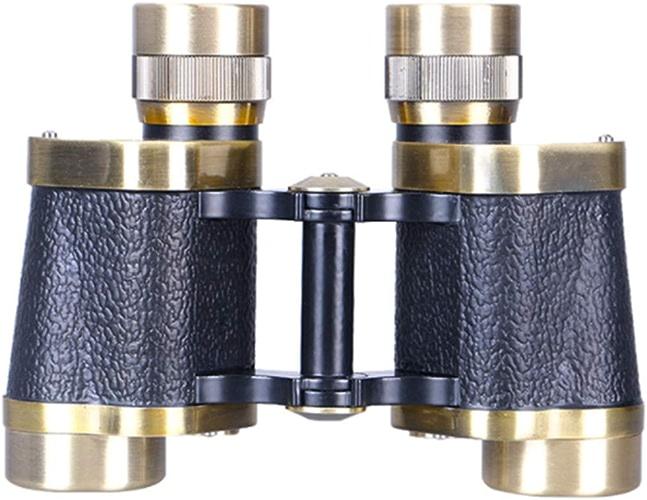 LINDANIG Télescope de Vision Nocturne HD à Faible luminosité pour Jumelles 8X30 Bronze Grand Angle Bronze pour Utilisation à l'extérieur