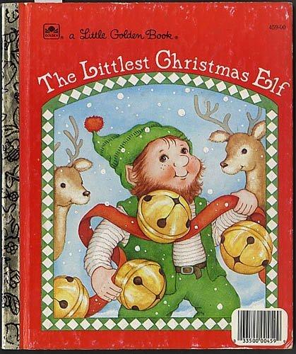 The Littlest Christmas Elf (Little Golden Book)