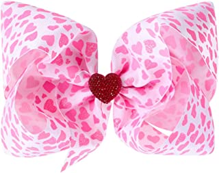 Valentine's Hair Hoop Headband Bow Baby Girls Hair Clips Pin Bow Accessories JHV13