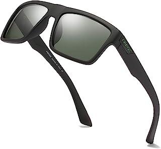 نظارات شمسية مستقطبة FRROS للرجال والنساء نظارات شمسية عادية مربعة للحماية من الأشعة فوق البنفسجية بنسبة 100%