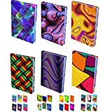 InstyleCraft Stretchable Fabric Book Cover-6 N1-Pattern Prints, for...