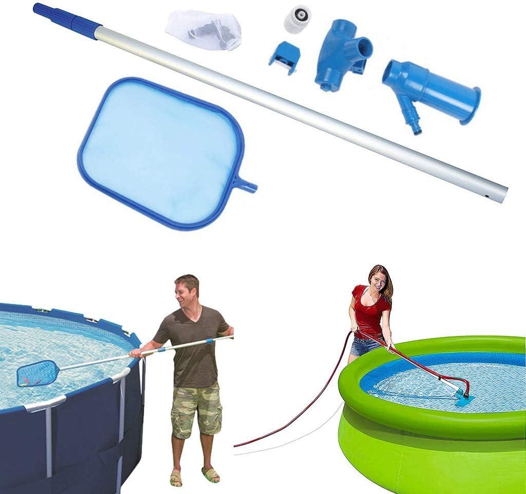 Sacramento Mall UNKN Professional Leaf Rake Mesh Cleaner Swimm Frame Net Skimmer Manufacturer regenerated product