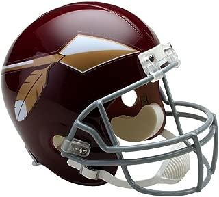 Riddell NFL Washington Redskins Helmet Replica Full Size VSR4 Style 1965-1969 Throwback, One Size, Team Color