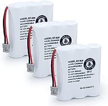 BAOBIAN BT-905 Rechargeable Cordless Handset Phone Battery for BT905 BT-800 BBTY0663001 BT-1006 BBTY-0444001 BP-800 BP-905 3.6v 600mAh Ni-CD (3 Pack BT905)