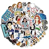 BLOUR Classic American Drama Grey'S Anatomy Stickers para Equipaje Maleta Laptop Car Phone PVC Decal Stickers Gift 50pcs