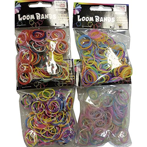 Bracelets Loom Band - 200 pièces