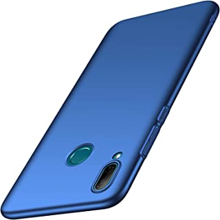 anccer Funda Huawei P Smart 2019, Ultra Slim Anti-Rasguño y Resistente Huellas Dactilares Totalmente Protectora Caso de Duro Cover Case para Huawei P Smart 2019 (Azul Liso)