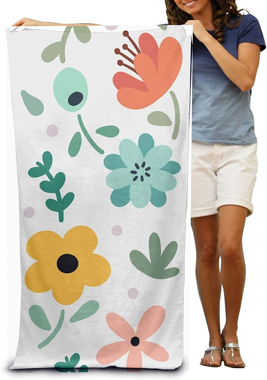 Beauty products DAZHILAO Super Soft Luxury Bath Absorbent High material Flowers To Towel