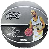 Spalding Ball NBA Player Tony Parker SZ.5 (83-401Z), Adultos Unisex, Negro, 5