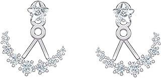 Swarovski Crystal Penélope Cruz Moonsun Clear Earring Jackets, Rhodium-Plated