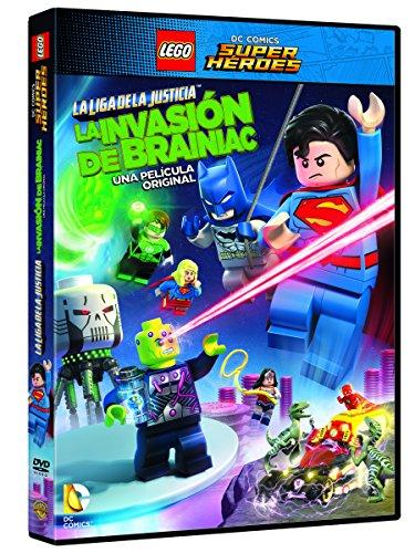 Lego Dc Super Heroes. La Liga De La Justicia. La Invasion De Brainiac [DVD]