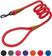 lynxking Braided Dog Rope Pet Leash Dog Traction Rope Leashes Dog Walking Training Lead Medium Large Dogs