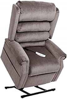 """NM-1950LT Mega Motion Power Lift Recliner Chair. (Charcoal) Suggested User Height: 5'10"""" to 6'6"""". Weight Capacity 375 Lbs. Free Curbside Delivery"""