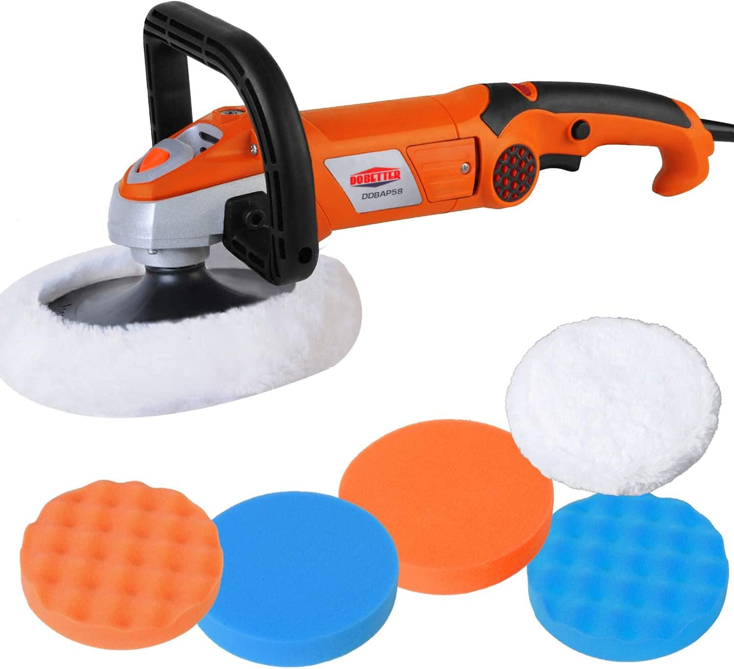 Dobetter Car Buffer Polisher 7 Washington Mall Sander At the price of surprise 10A Inch Machine
