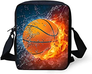 ZERODATE Women Men Crossbody Bag Purse Cell Phone Coin Bag Handbag Messenger for Kids School Outdoor Sports