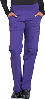 Workwear Professionals WW170 Women's Mid Rise Straight Leg Pull-on Cargo Pant